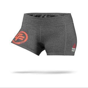 Reebok Gray Crossfit Bootie Shorts